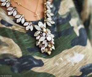 fashion, girl, and military image