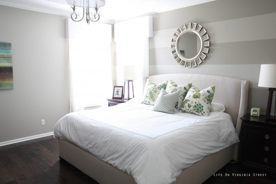 White Bedding Unit Lied Well In Small Bedroom With Best Master Paint Colors Grey Color And Rounded Mirror