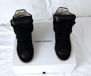 fashion, Isabel marant, and isabel marant sneakers image