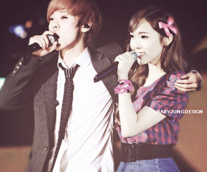 couple, exo, and gg image