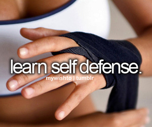learn, things to do, and self defense image