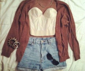 high waisted, hipster, and shorts image