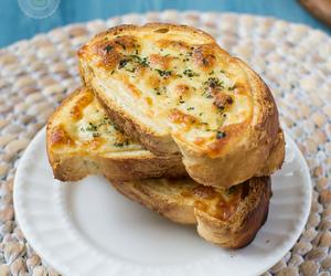 bread, garlic, and herbs image