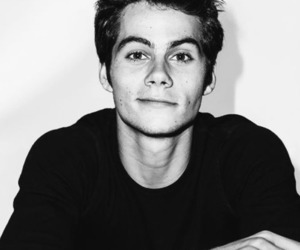 black, dylan o brien, and dylan obrien image