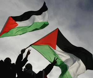 brother, palestine, and peace image