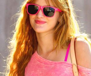 bella, pink, and smile image