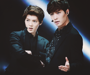 luhan, exo, and lay image