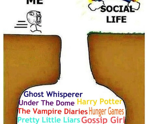 gossip girl, harry potter, and the vampire diaries image