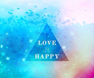 happy, wallpaper, and love image