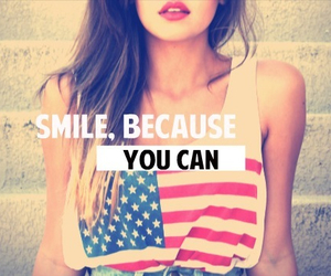 smile, quotes, and can image