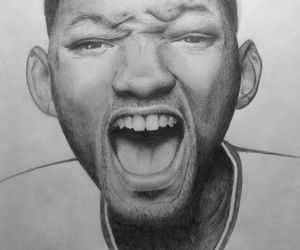 pencil, will smith, and drow image