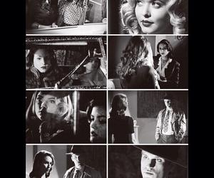 black & white, costumes, and girls image