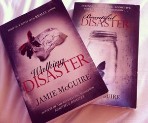 beautiful disaster, book, and walking disaster image