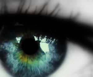 black, eye, and color image
