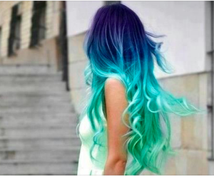 mermaid awesome hair and fb: kocham ten stan image