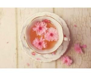 flowers, tea, and cute image