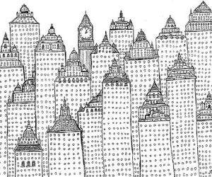 drawing, art, and city image