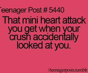 crush, heart attack, and teenager image