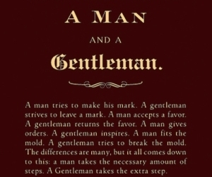 quote, gentleman, and man image