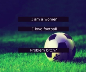 football, love, and bitch image