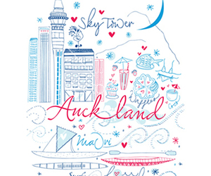 auckland, city, and new zealand image