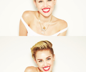 miley cyrus, smile, and bangerz image