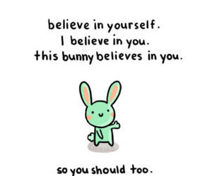 bunny, believe, and quotes image