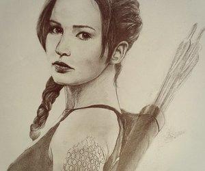 katniss, hunger games, and mockingjay image
