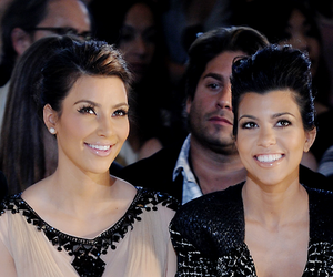 kim, kourtney kardashian, and kardashian image