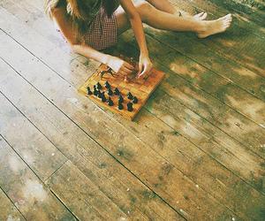 girl and chess image