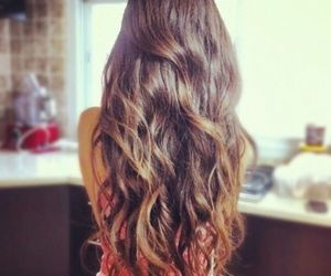 beautiful, curly, and long image