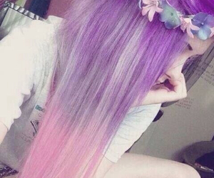 colors, fashion, and colorhair image