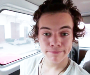 cuteness, dimples, and Harry Styles image