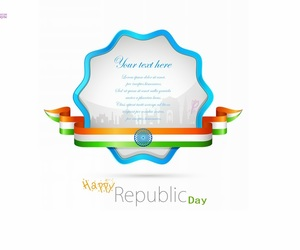 indian republic day, 26 january, and indian republic day sms image