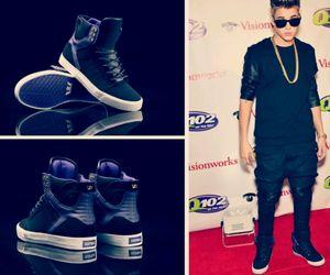 shoes, supra, and justin bieber image