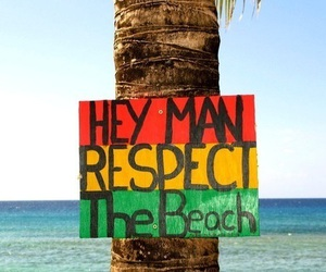beach, respect, and summer image