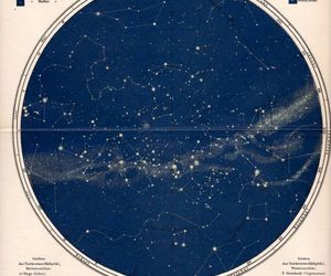 map, sky, and stars image