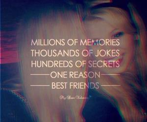 best friends, memories, and quote image