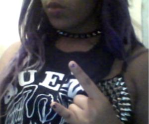 bra, lips, and rock image