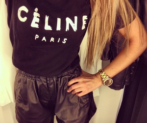 fashion, celine, and hair image