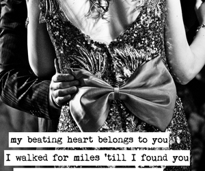 couple, dress, and Lyrics image
