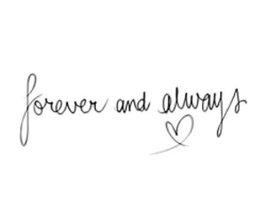 forever, love, and always image