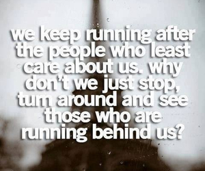 quote, running, and care image