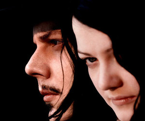 jack white, the white stripes, and band image