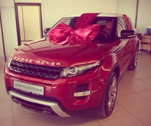 car, red, and range rover image