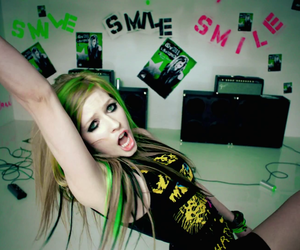 Avril Lavigne, smile, and Avril image