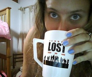 girl, lost, and room image
