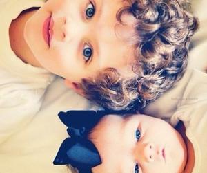 baby, boy, and blue eyes image