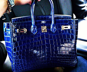 bag, blue, and style image