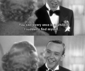 black and white, dance, and fred astaire image
